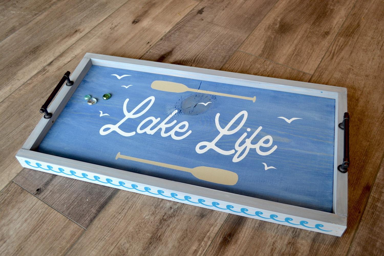 Lake Life Framed Tray-min