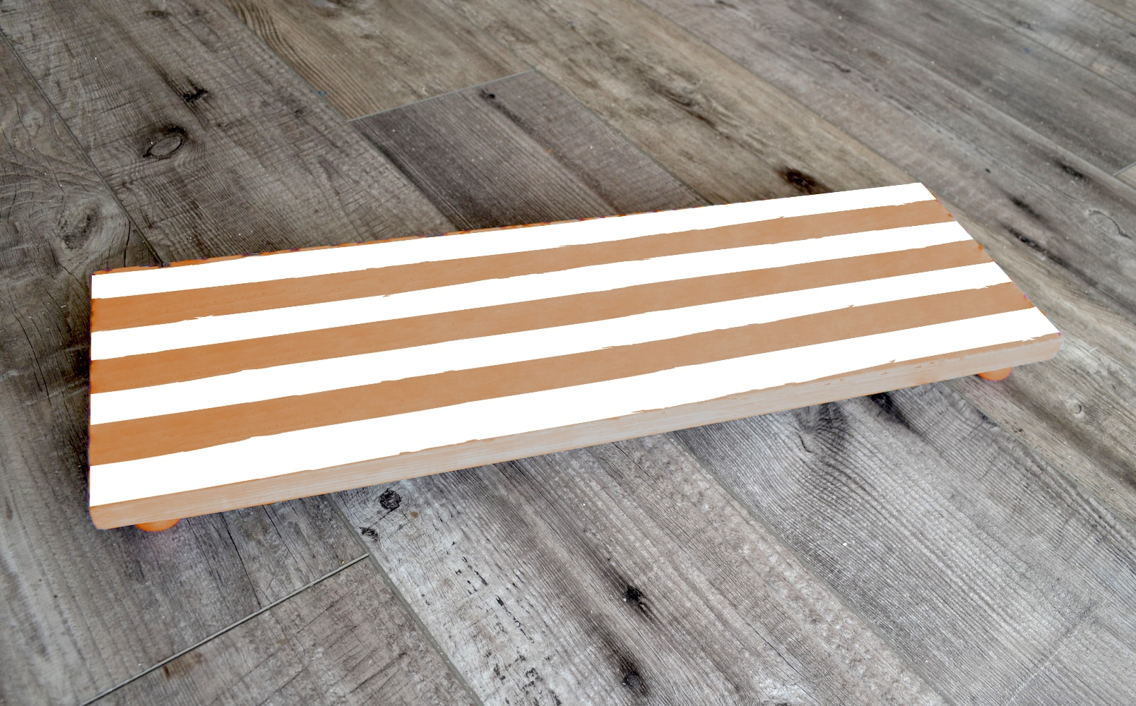 Stripe Rectangle Pedestal-min